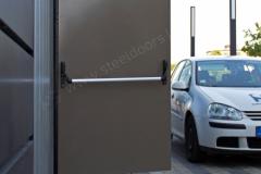 office-steel-fire-exit-door
